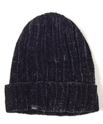 Black - Chenille Hat
