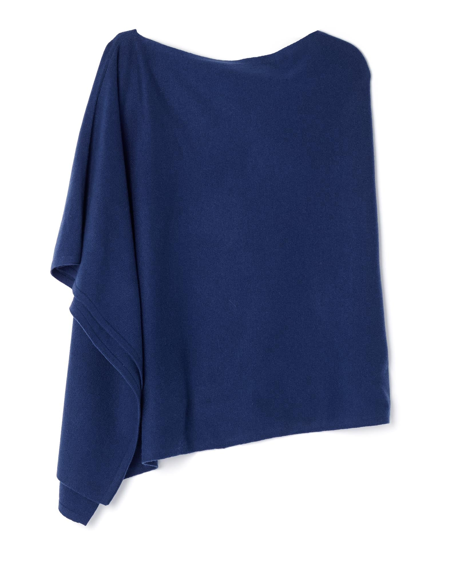 Bright Navy - Cashmere Gradient Topper
