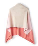 Porcelain Rose - Wool & Cashmere Colorblock Topper