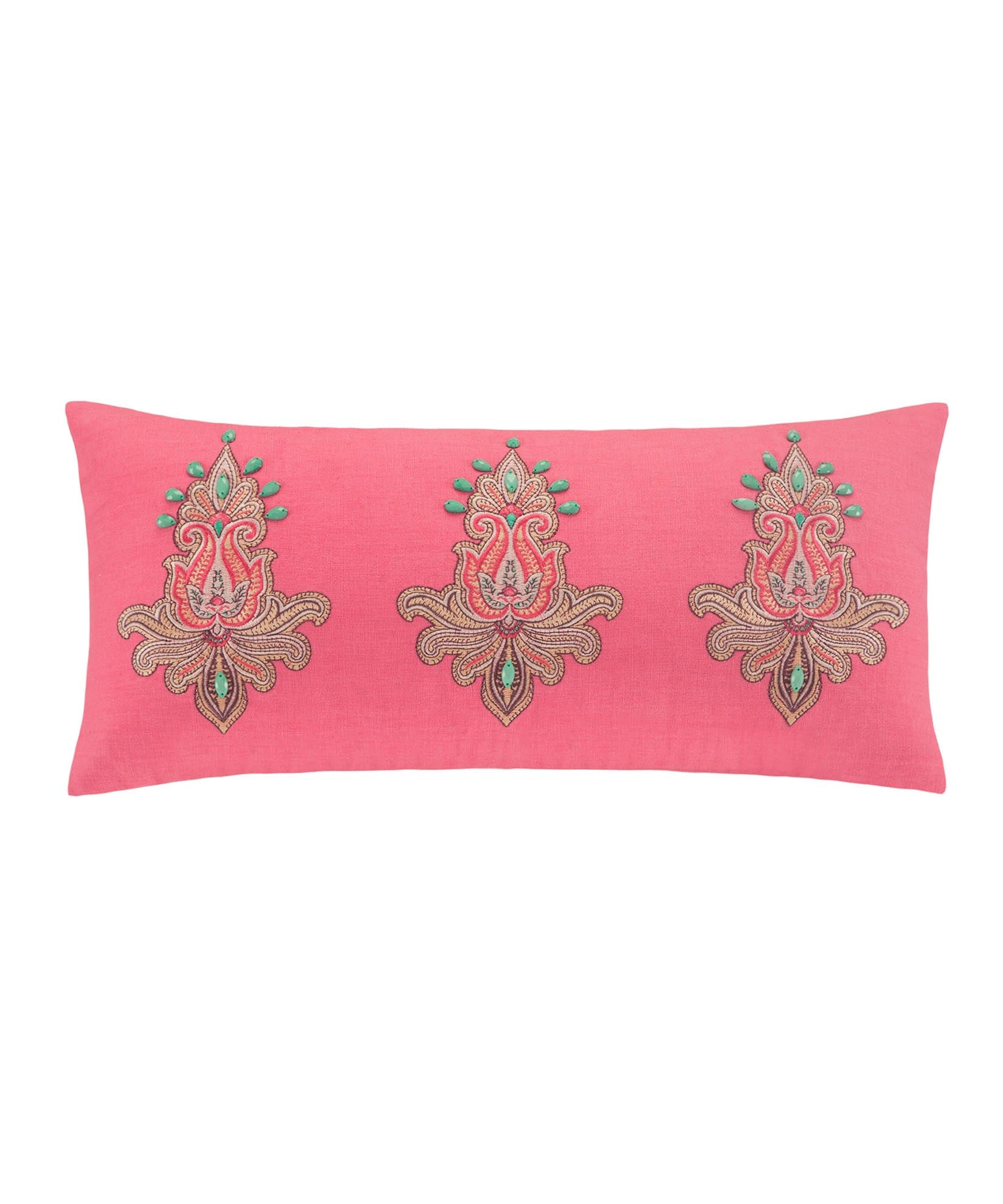 Coral - Guinevere Oblong Pillow