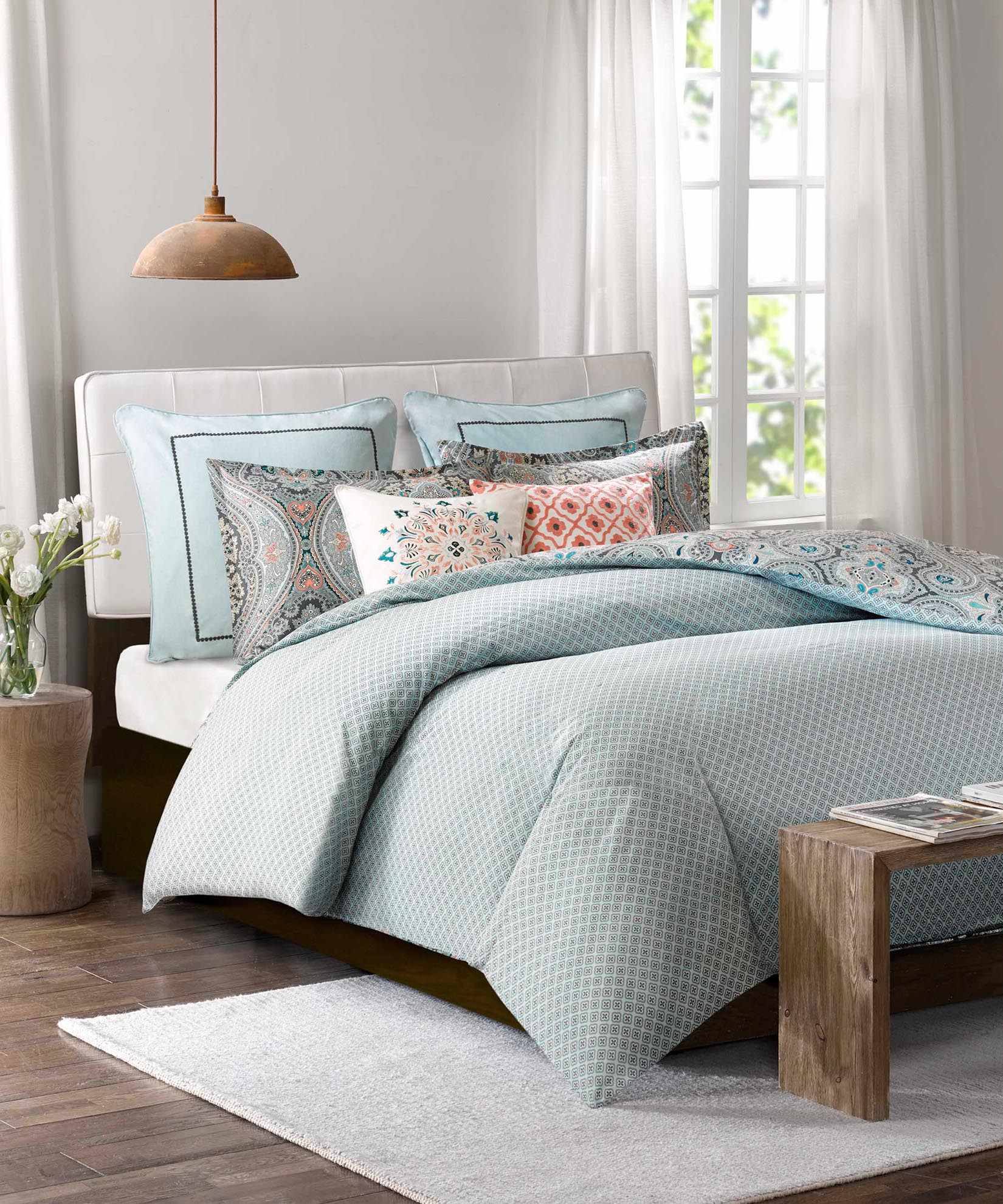 Blue - Sterling Duvet Mini Set