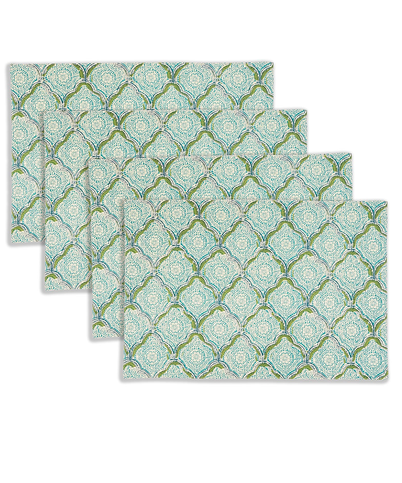 Grass - Indian Stamp Placemat (4 Pack)