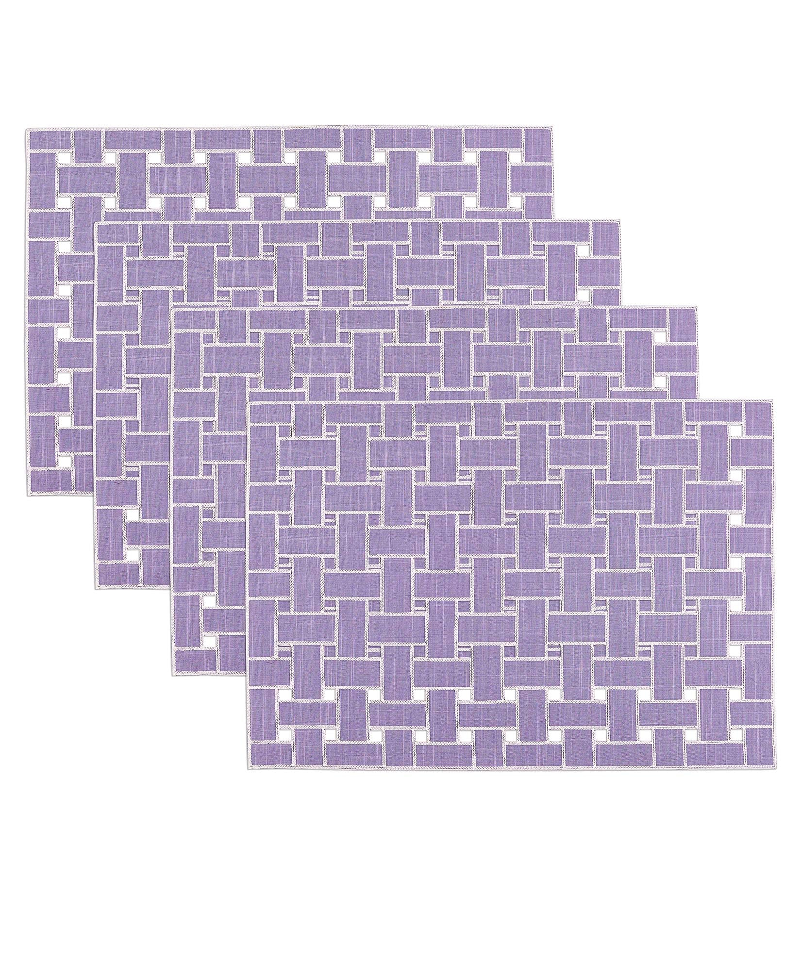 Heirloom Lilac - Lattice Placemat (4 Pack)