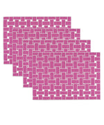 Radiant Orchid - Lattice Placemat (4 Pack)