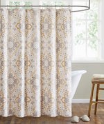 Neutral - Hudson Paisley Shower Curtain