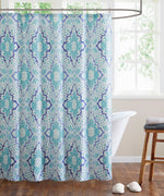 Indigo - Hudson Paisley Shower Curtain