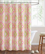Pink/Orange - Hudson Paisley Shower Curtain