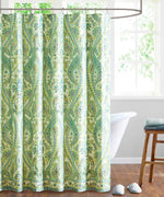 Aqua/Lime - Serena Paisley Shower Curtain