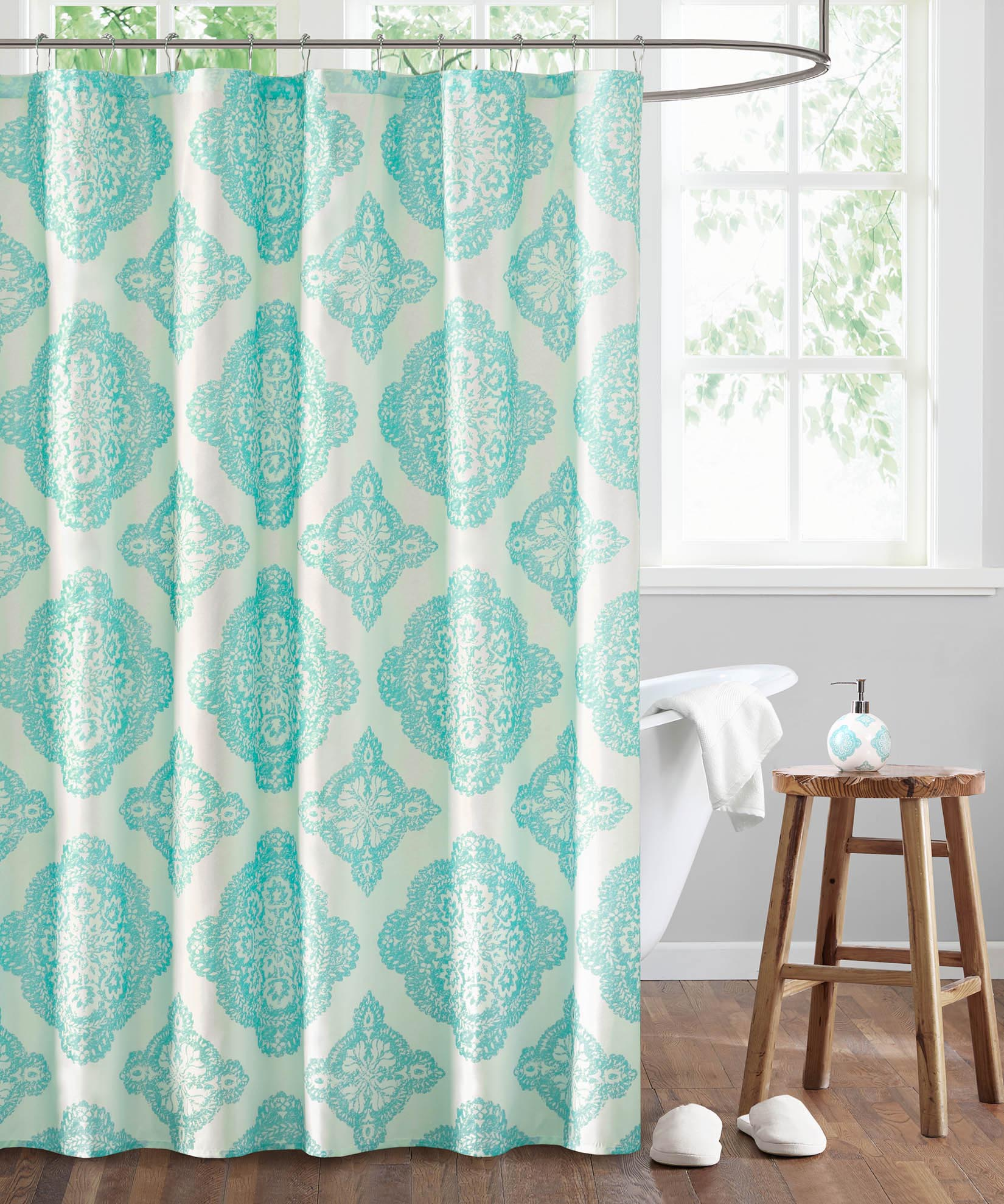 Aqua - Dani Shower Curtain