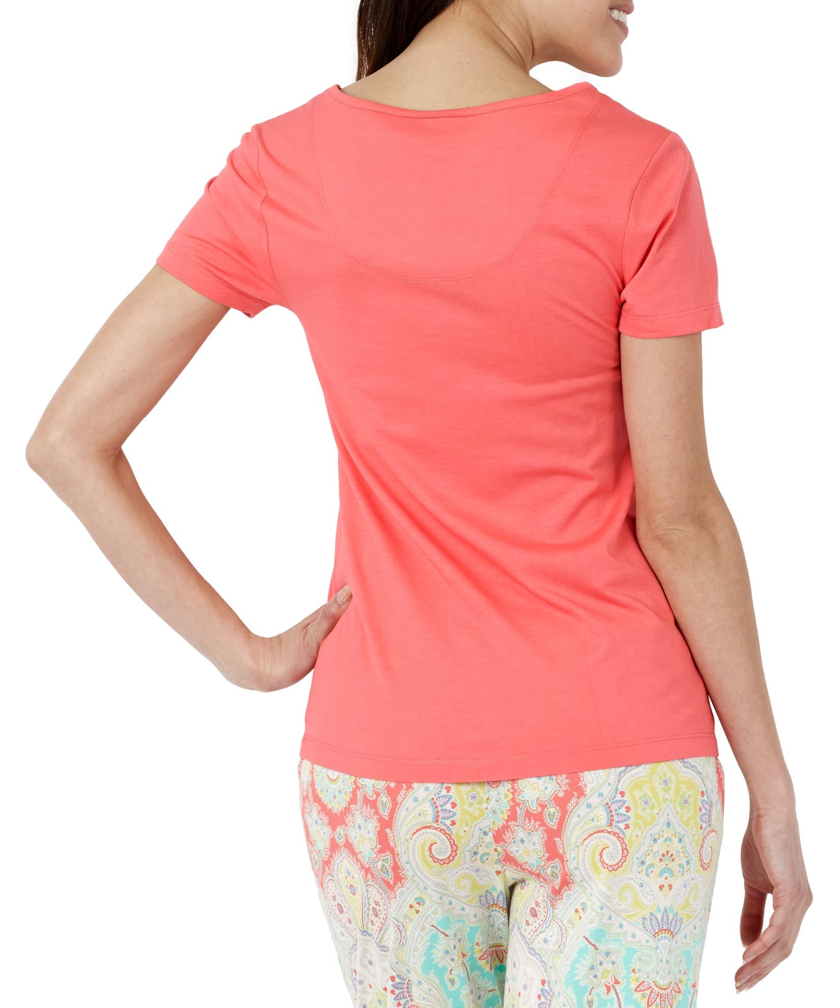 Coral - Cyprus Ss Tee