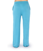Teal - Solid Drawstring Pant
