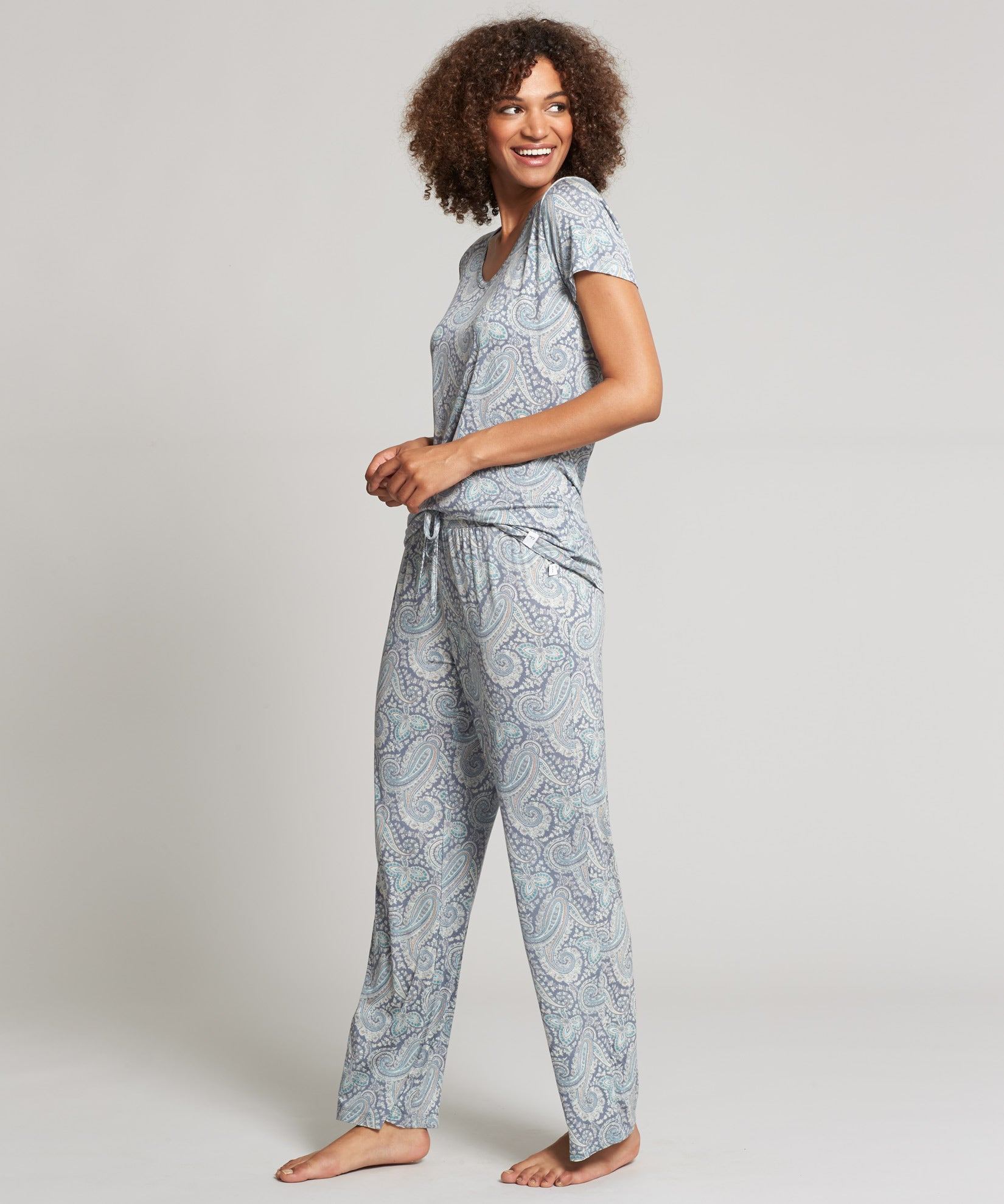 Charcoal - Bukhara PJ Set