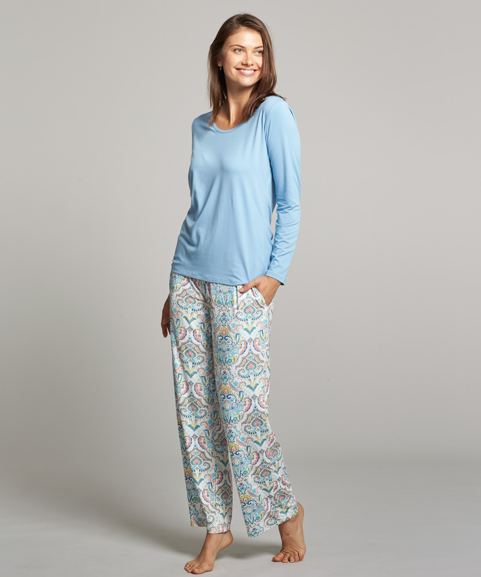 Blue - Peru PJ Set