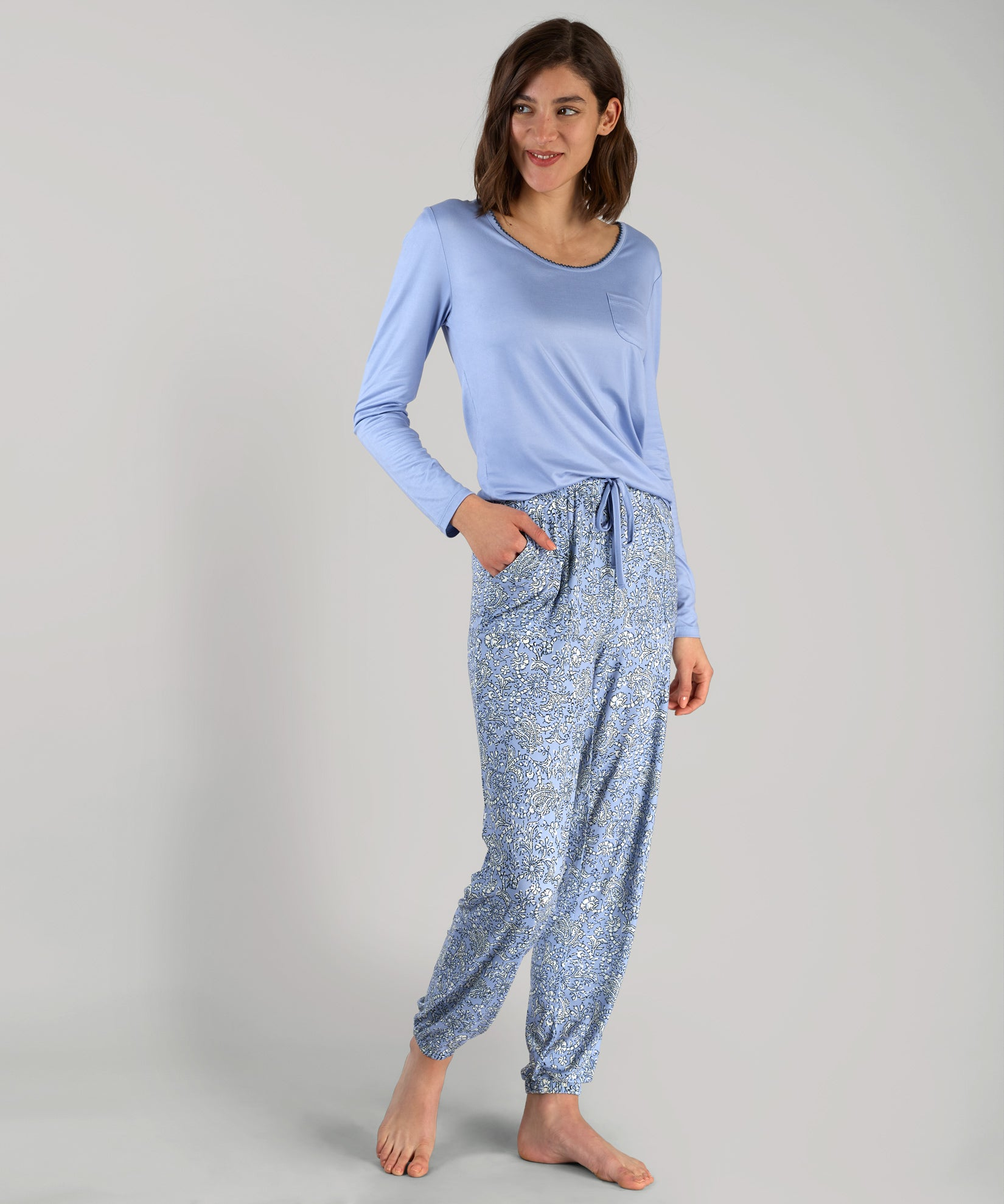 Block Paisley PJ Set - Block Paisley PJ Set
