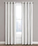 Ivory - Woven Chevron Window Panel