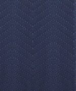 Navy - Woven Chevron Window Panel