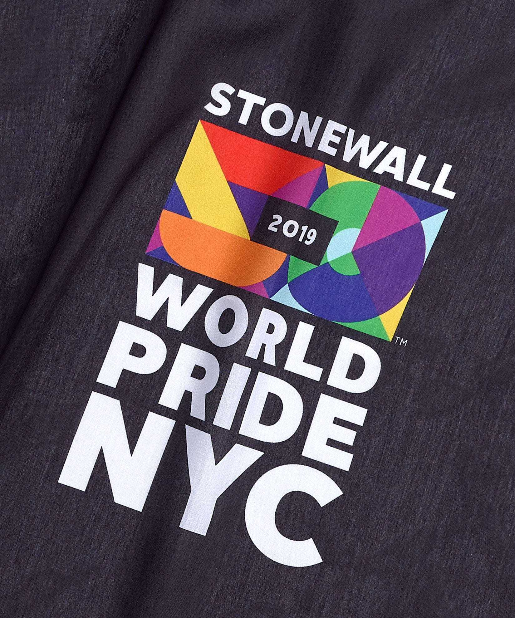 Black - World Pride NYC Bandana