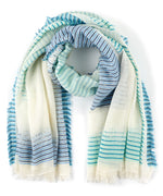 Coastal Blue - Ocean Stripe Pareo