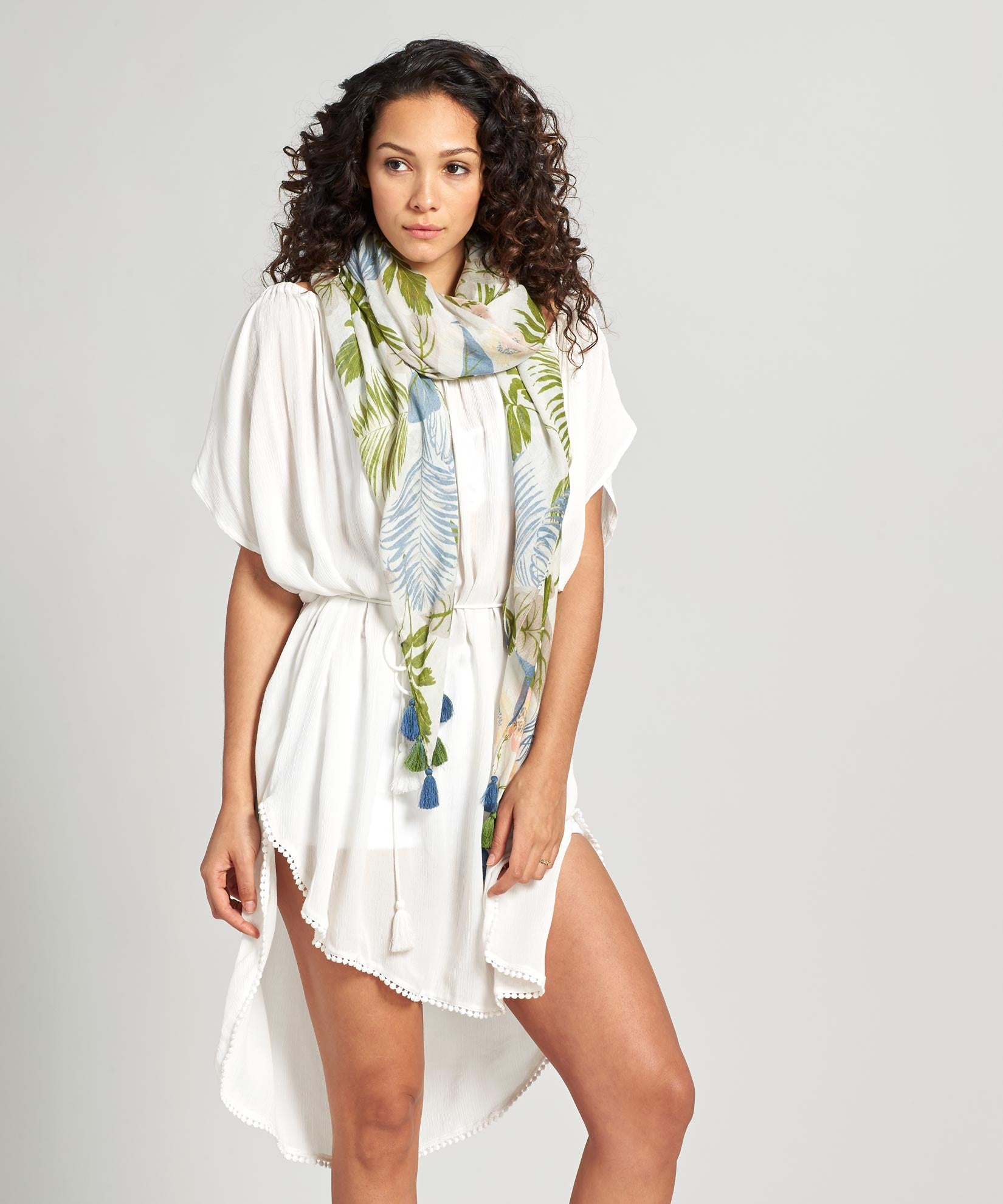 White - Seaside Caftan