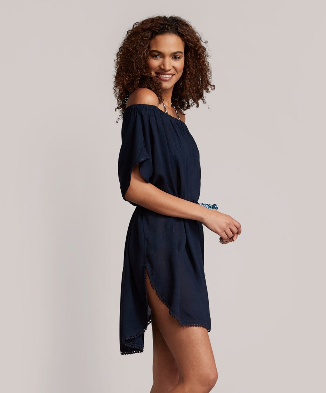 Navy - Seaside Caftan