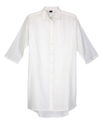 White - Solid Button Down