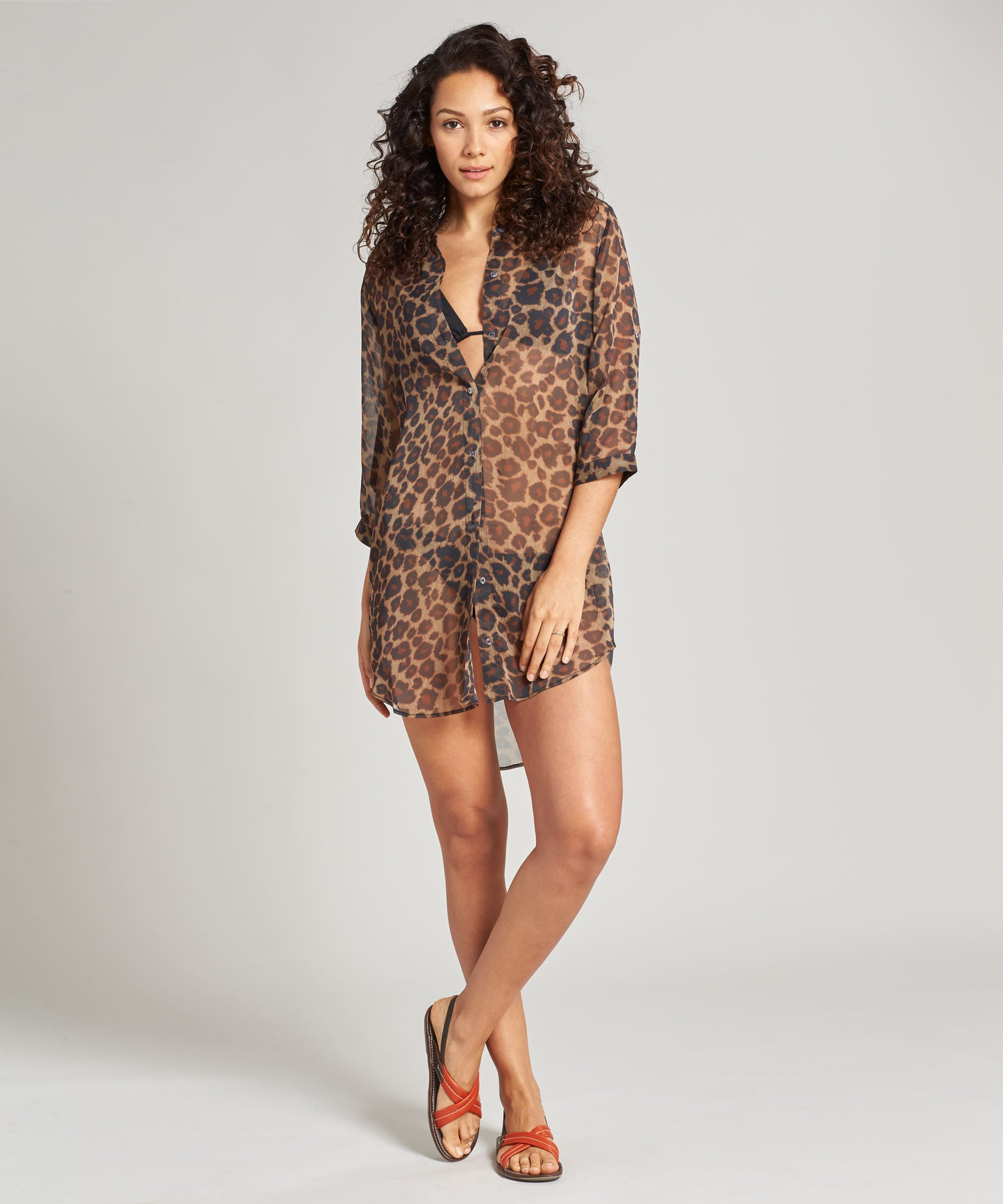Stone - Safari Shirt Dress