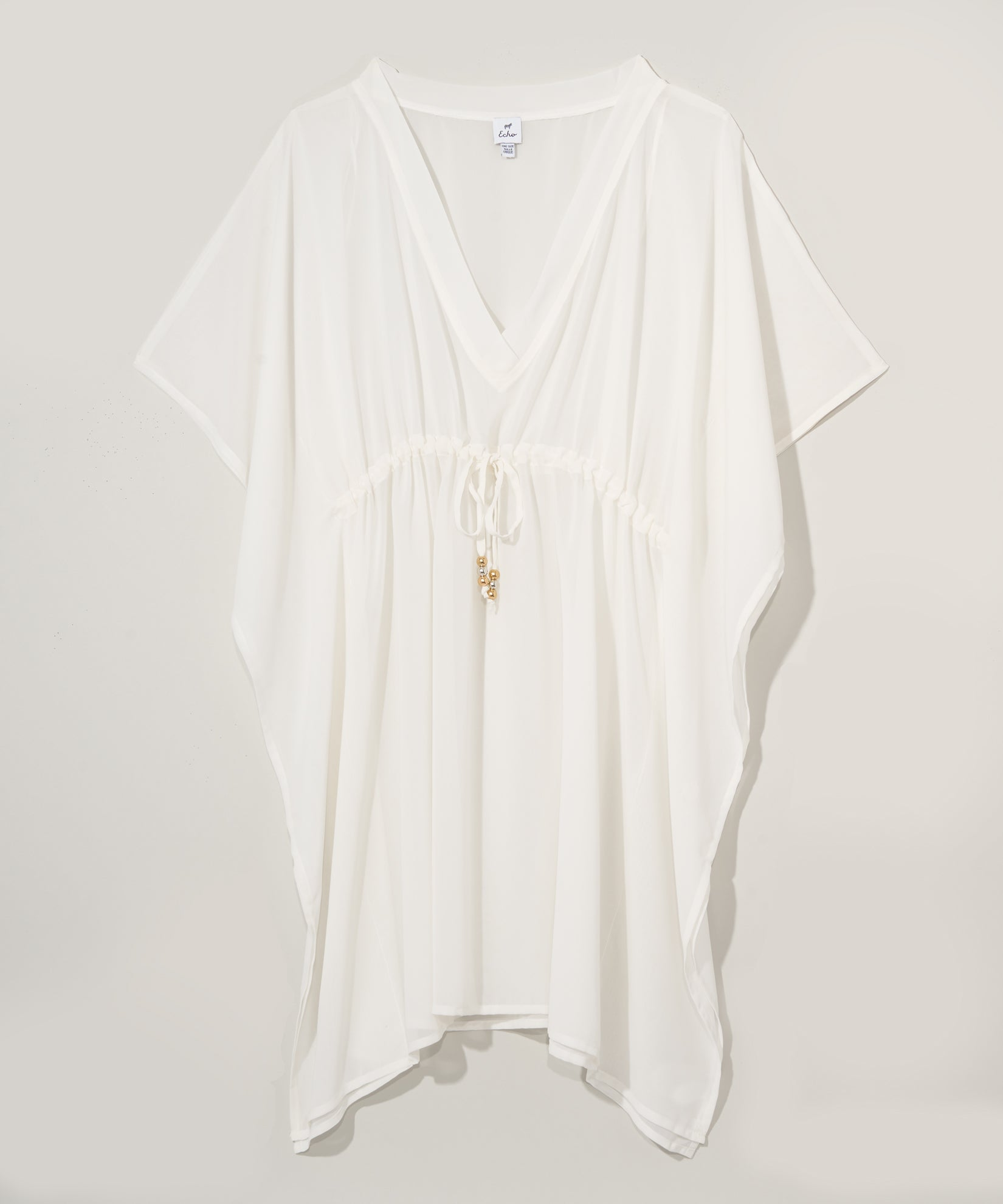 White - Butterfly Caftan