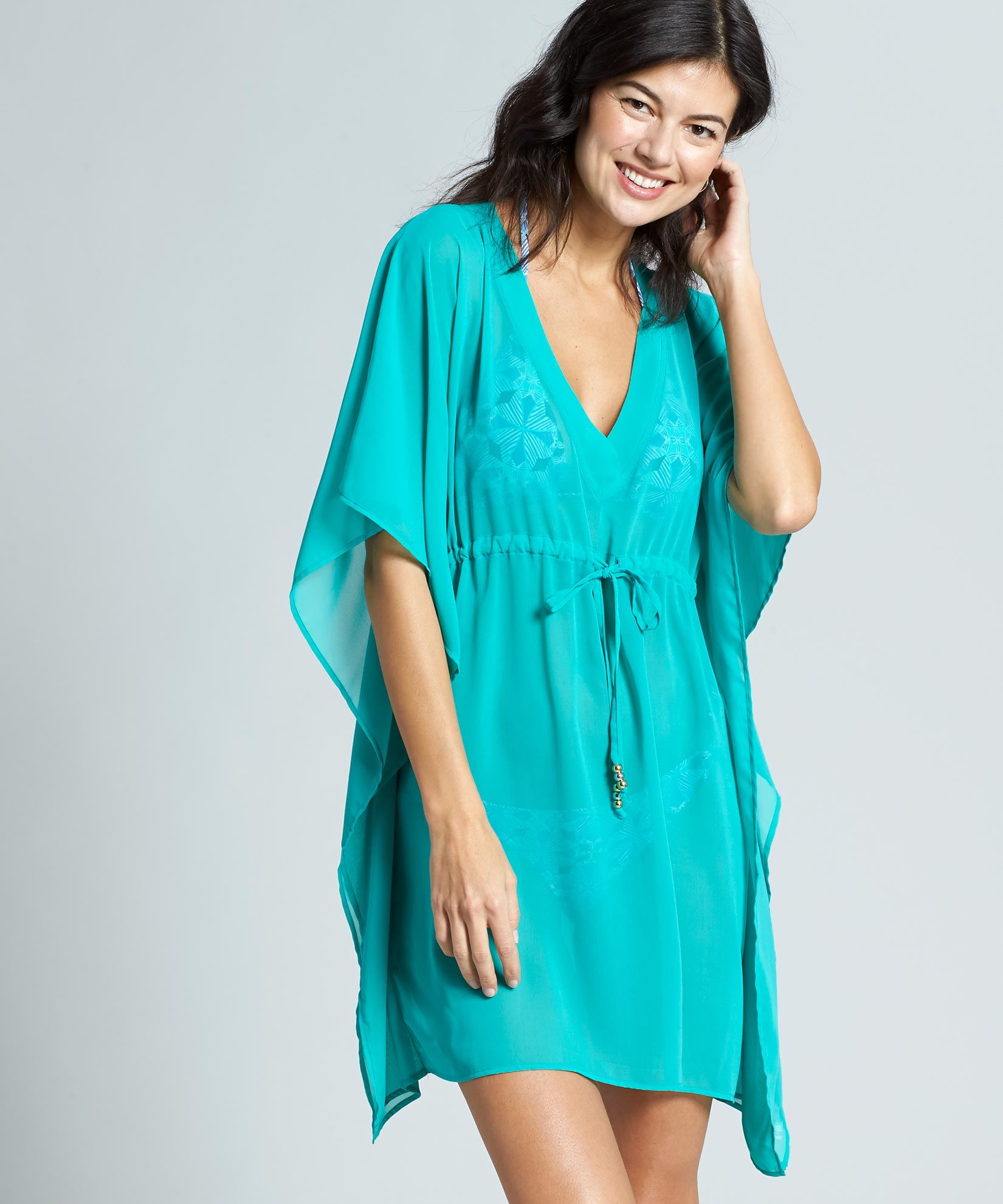 Emerald Sea - Butterfly Caftan