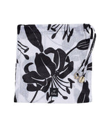 Black - Bi-Color Lily Pareo Wrap-In-A-Bag