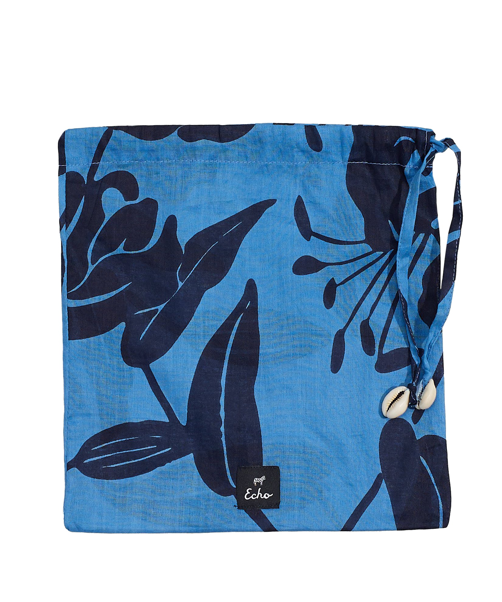 Navy - Bi-Color Lily Pareo Wrap-In-A-Bag