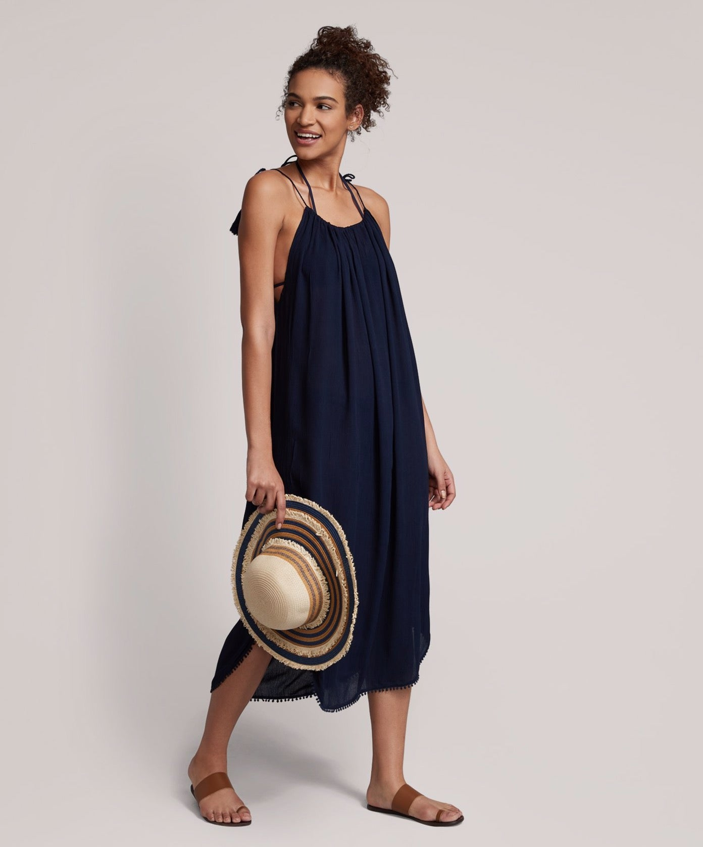 Navy - Maxi Breeze Dress