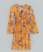 Zinnia - Tropical Floral Tunic Dress