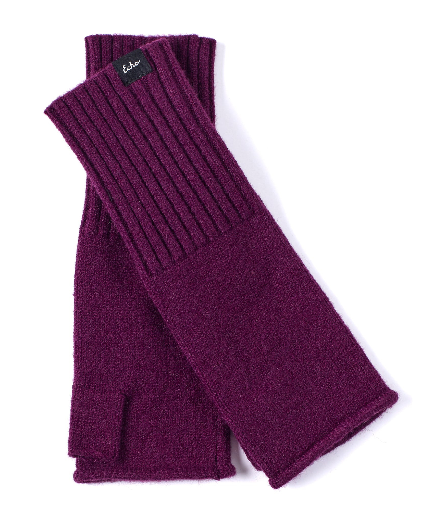 Pickled Beet - Active Stretch Fingerless Glove