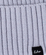 Echo Silver - Active Stretch Ribbed Cuff Beanie