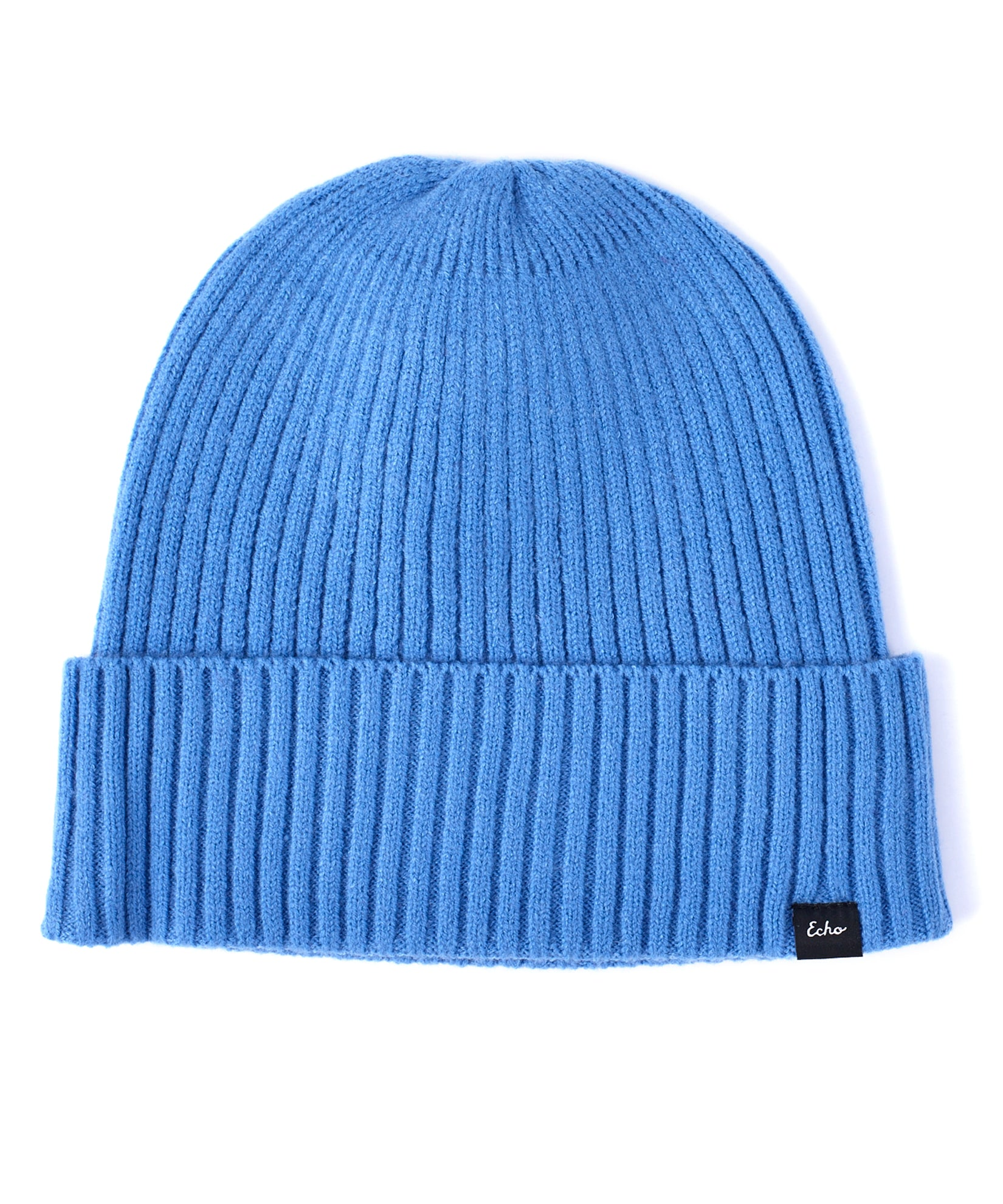 Goa Blue - Active Stretch Ribbed Cuff Beanie