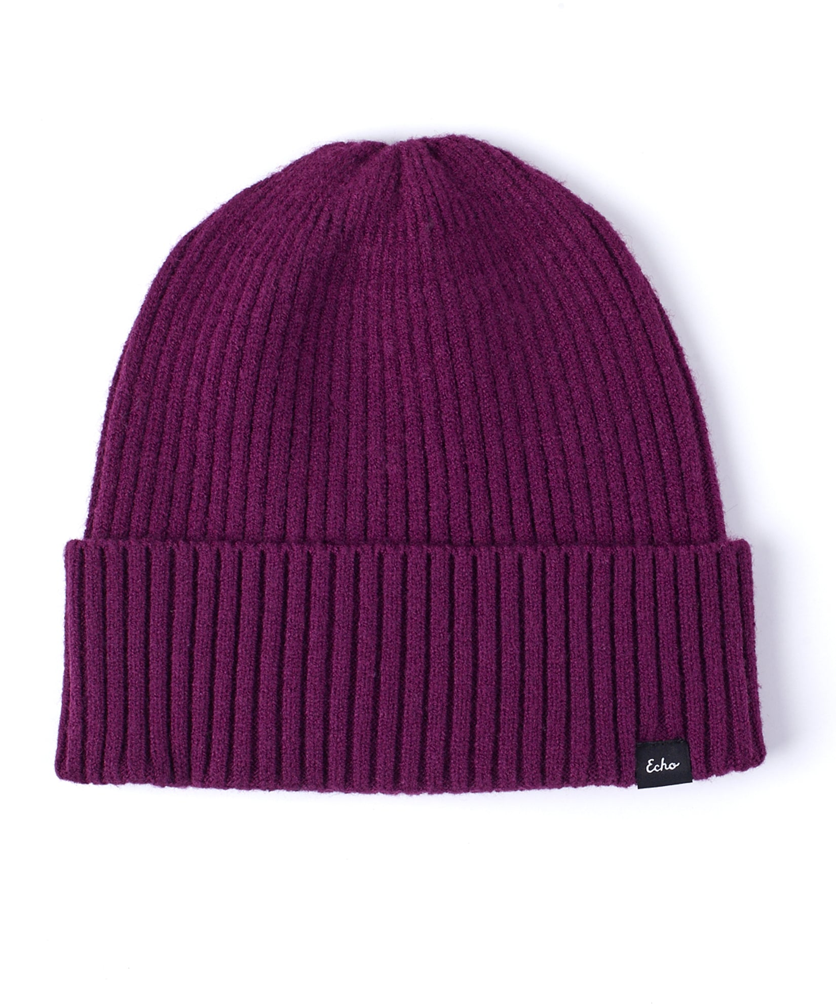 Pickled Beet - Active Stretch Ribbed Cuff Beanie