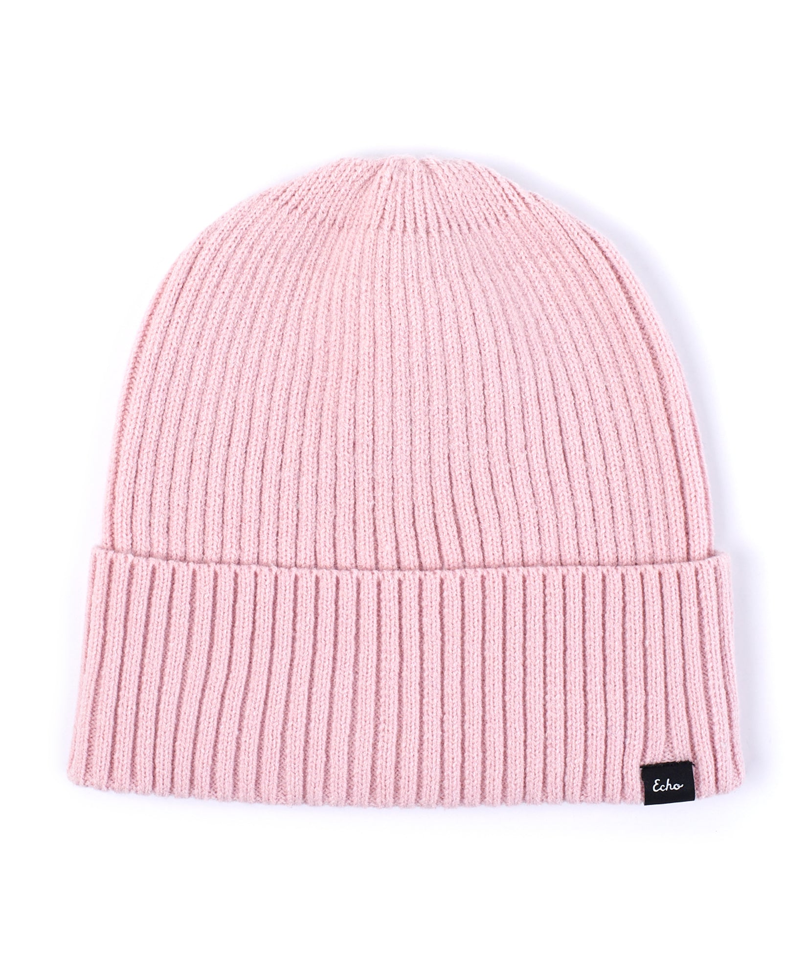Jaipur Pink - Active Stretch Ribbed Cuff Beanie