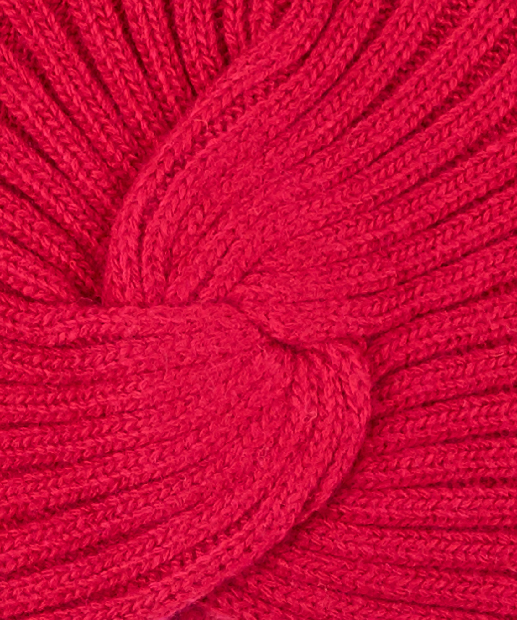 Ruby Red - Knit Turban