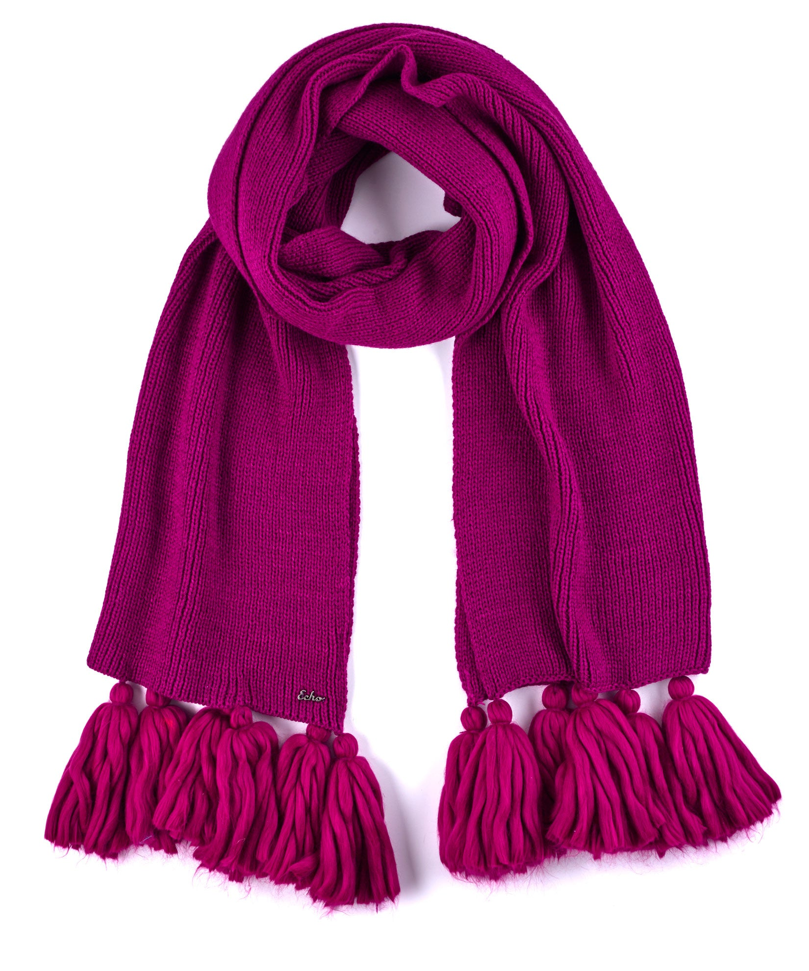 Indian Rose - Maxi Tassel Muffler