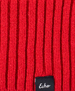 Ruby Red - Active Stretch Slouchy Beanie