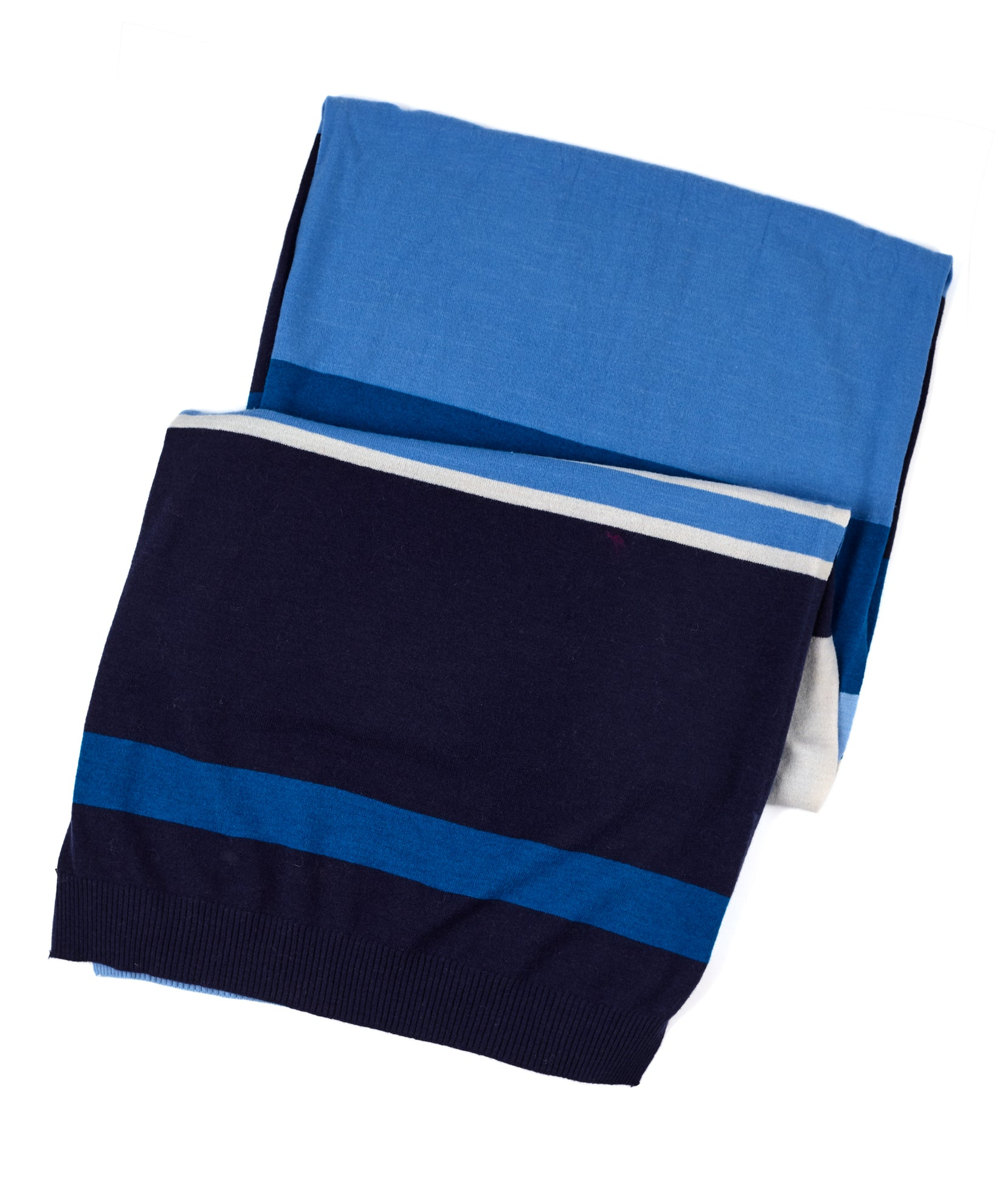 Echo Navy - Active Stretch Color Block Muffler