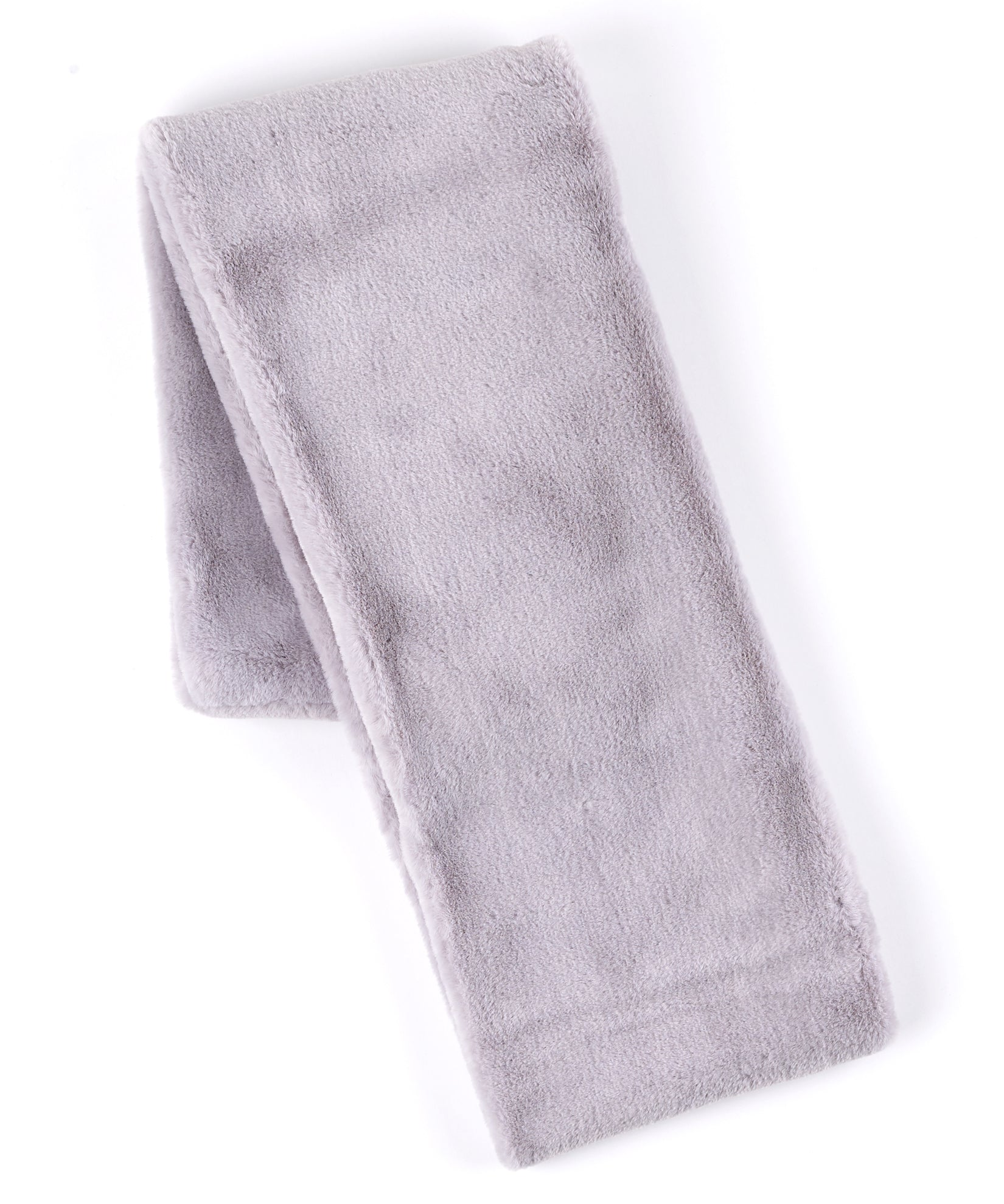 Echo Silver - Long Faux Fur Loop