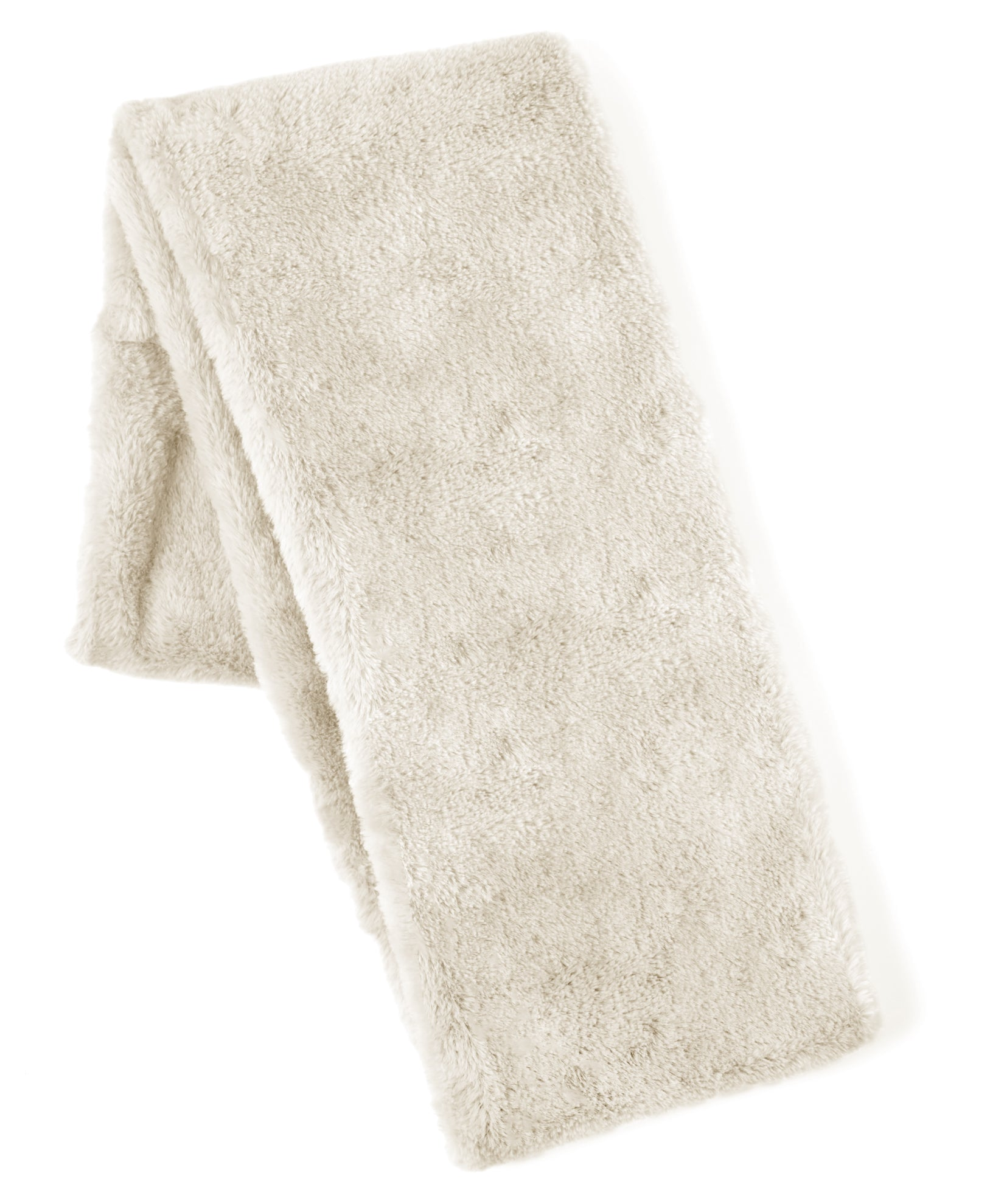 Echo Ivory - Long Faux Fur Loop