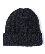 Echo Black - Chenille Lurex Hat