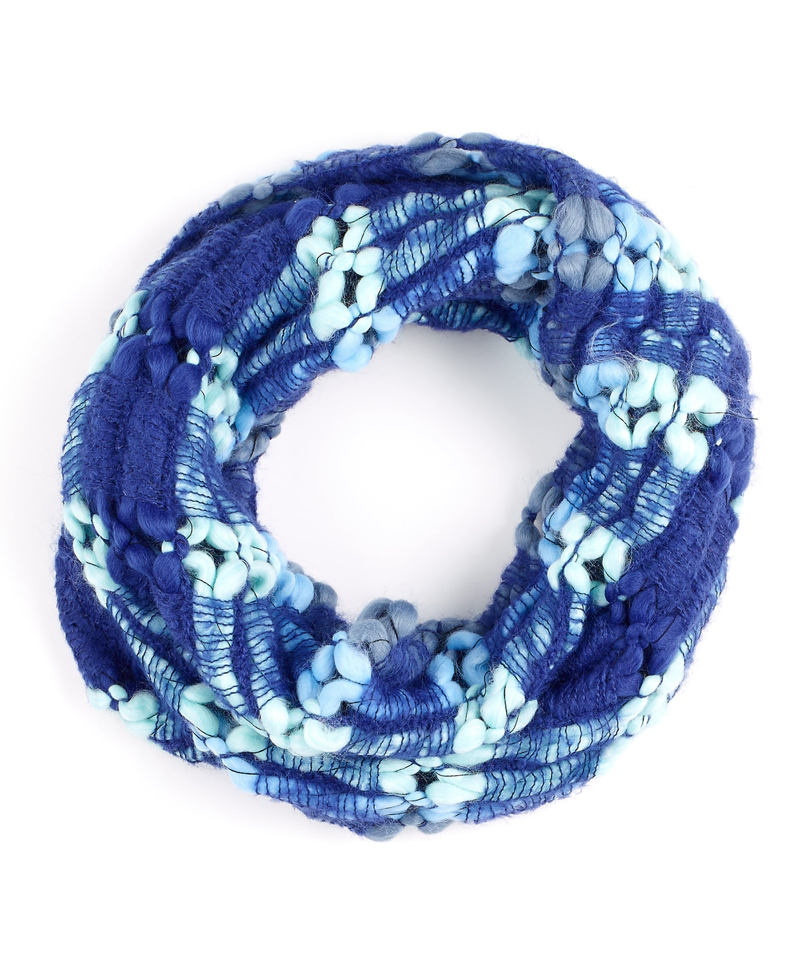 Echo Navy - Rainbow Crochet Loop