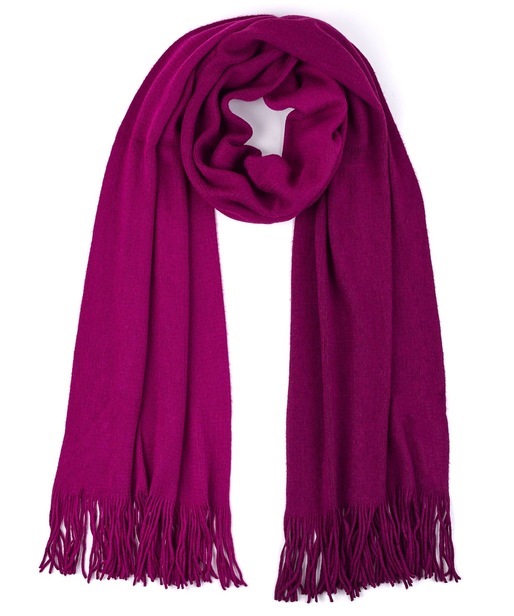 Indian Rose - Ombre Milk Muffler