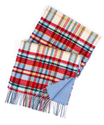 Echo Ivory - Statement Plaid Muffler