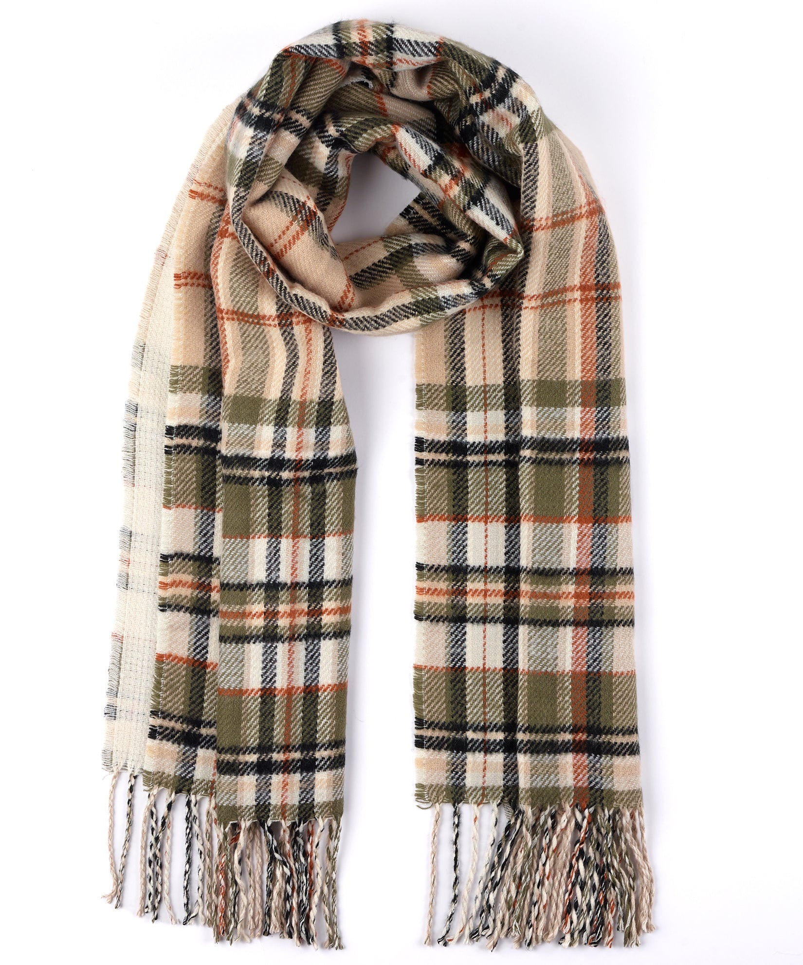 Chai - Statement Plaid Muffler