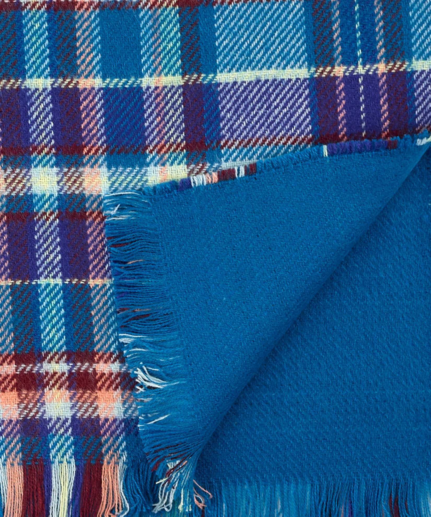 Himalayan Ice - Statement Plaid Muffler