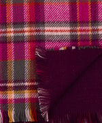 Smoked Lilac - Statement Plaid Muffler